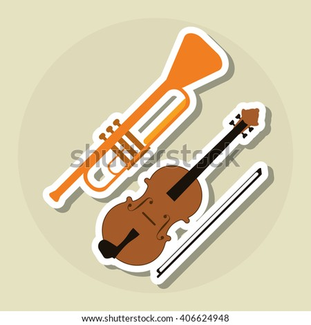 instrument icon design , vector illustration