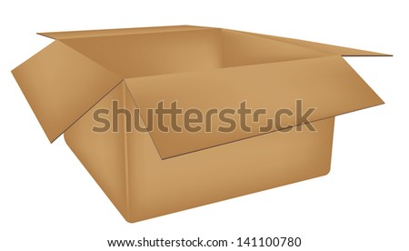 insulated box vector illustration eps 8 / box vector