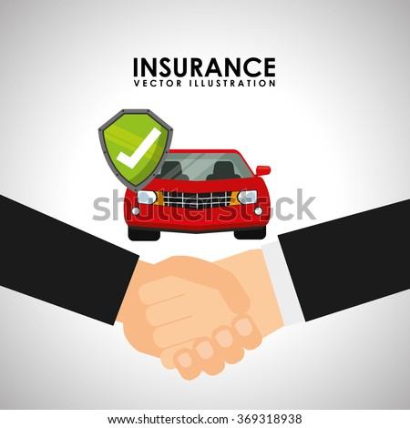 Insurance company design  - stock vector
