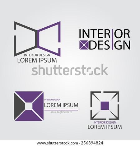 Interior Design - stock vector