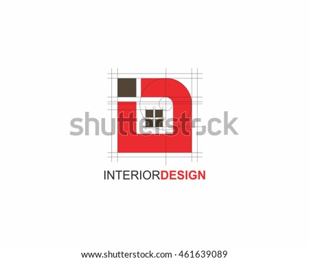 Interior Design Logo Vector