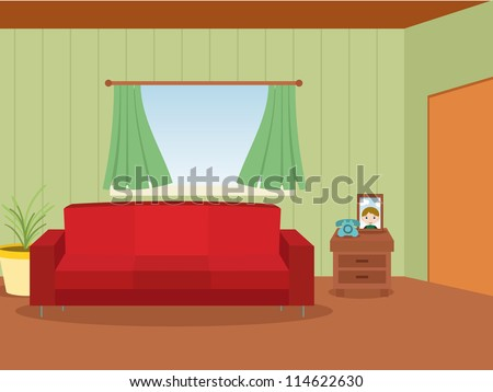 interior of home, house room background