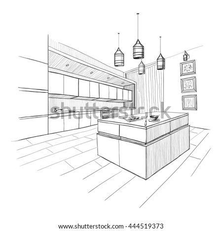 interior design sketch stock images, royalty-free images & vectors