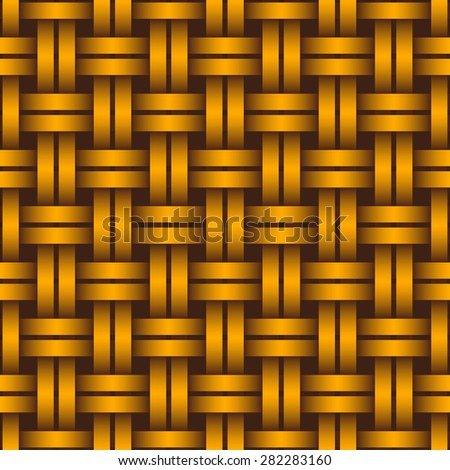 Interlacing seamless pattern for endless backgrounds, printings, textures and as part of other creative designs.
