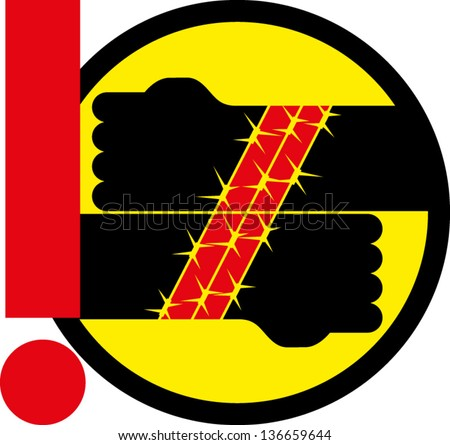 International Day in Support of Victims of Torture - stock vector