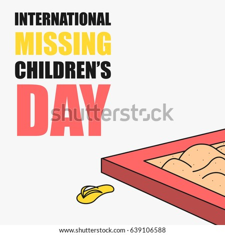 Child Kidnapping Vectors Images Vector Art – Missing Child Poster Template