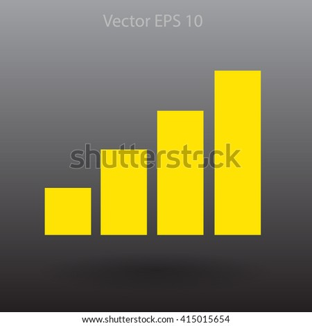Internet access at full capacity vector icon