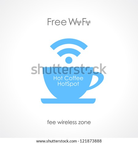 Internet cafe vector design - stock vector
