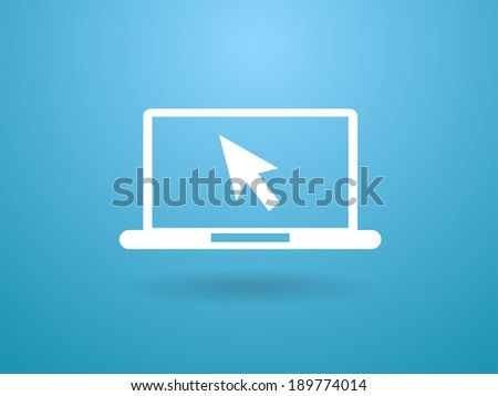 Internet icon - stock vector