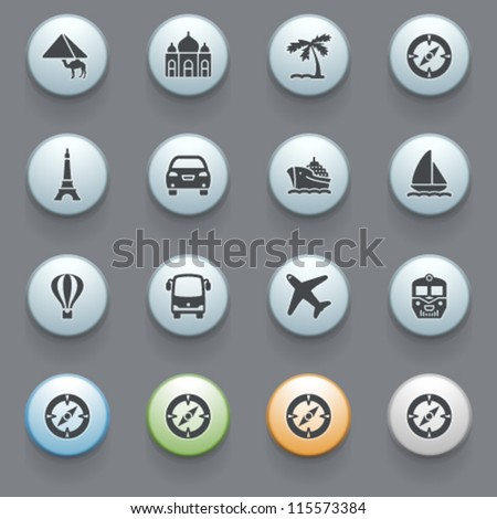 Internet icons for web site, set 3. - stock vector