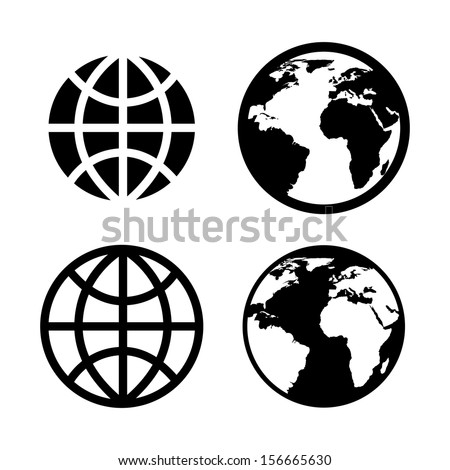 internet icons over white background vector illustration - stock vector
