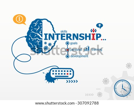 Internship stock vectors images vector art shutterstock for Design consultancy internship
