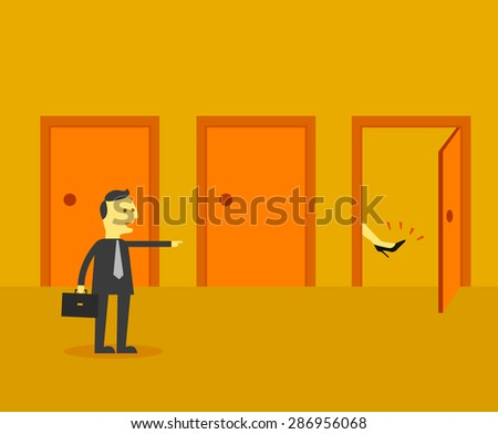 investment option concept - stock vector