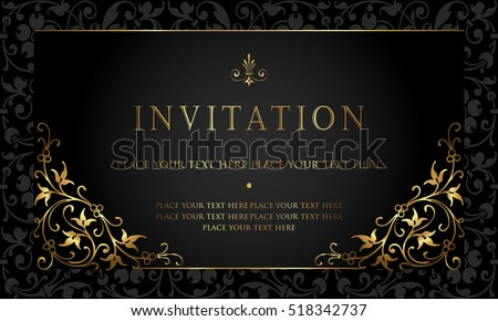 Invitation Card Images RoyaltyFree Images Vectors – Designing an Invitation Card