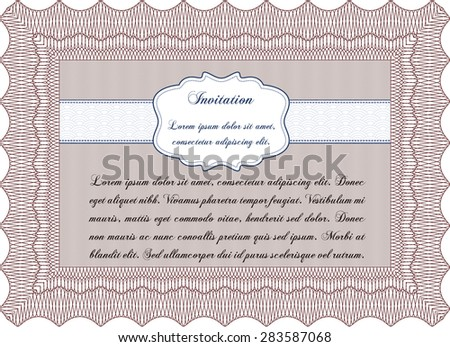 Invitation. Customizable, Easy to edit and change colors.Sophisticated design. With linear background.