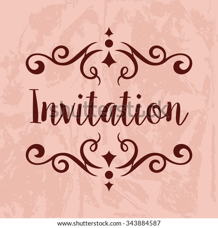 Invitation Vector Template