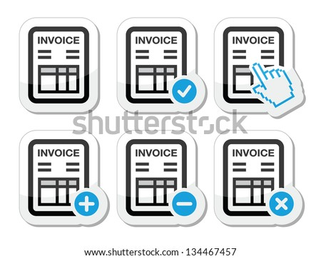 Receipt Template Australia Invoice Icon Stock Images Royaltyfree Images  Vectors  The Meaning Of Receipt Excel with Receipt Scanner Software Pdf Invoice Finance Vector Icons Set 2016 Honda Accord Invoice Price Excel