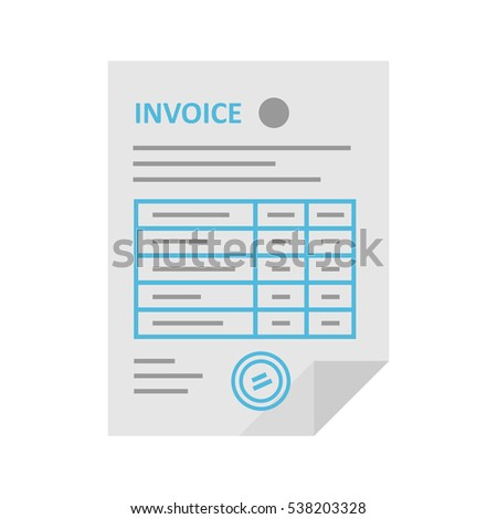 Invoice Stock Images RoyaltyFree Images  Vectors  Shutterstock