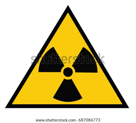 Ionizing Radiation Hazard Symbol Stock Vector 687086773 Shutterstock