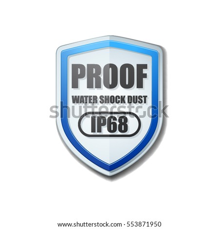 IP68 Proof Shield illustration