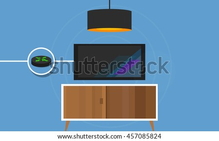 IP TV connected Television to internet protocol digital