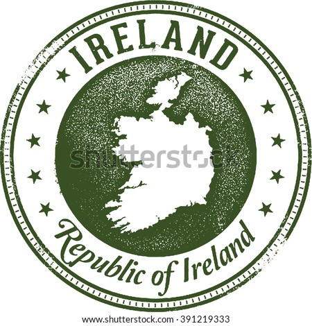 Ireland European Country Stamp