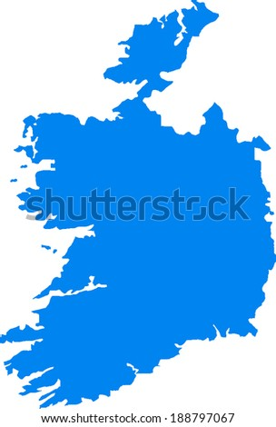 Ireland Vector Map