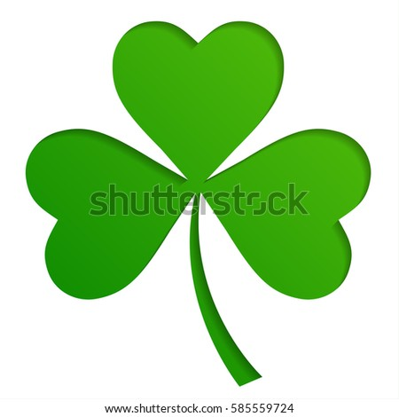 Shamrock stock images royalty free images vectors shutterstock irish shamrock leaves background for happy st patricks day voltagebd Images