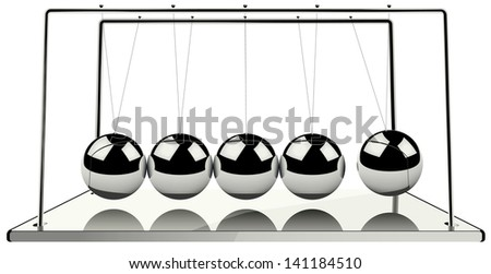 Iron balance isolated vector illustration eps 8 / balance vector - stock vector