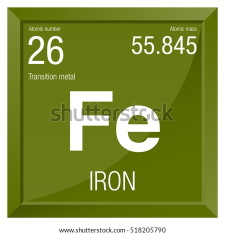 Iron symbol element number 26 periodic stock photo photo vector iron symbol element number 26 of the periodic table of the elements chemistry urtaz Choice Image