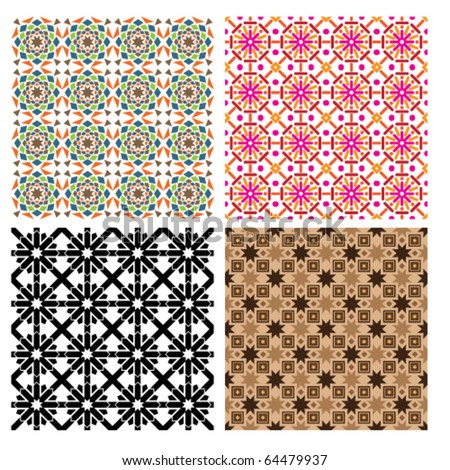 Islam, Pattern, Arabic Style, Geometric, Art, Seamless, Backgrounds, Brown, Red, Repetition, coptic, Star Shape, RED, magenta