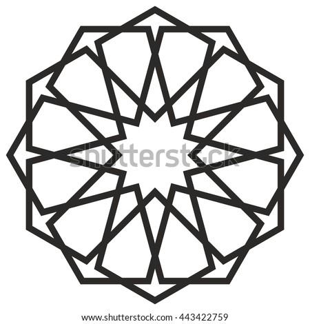 islamic motif sacred geometry star mandala stock vector 443422759 rh shutterstock com sacred geometry vectors royalty free vectors sacred geometry vector set