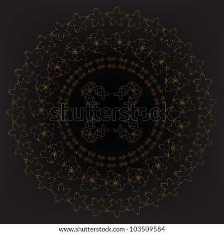 Islamic Ornament. Jpeg Version Also Available In Gallery. - stock vector