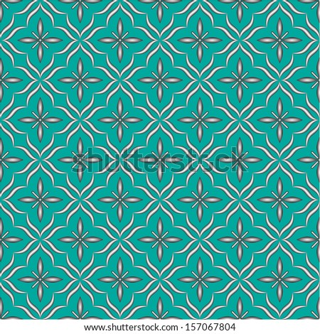 Islamic vector background - stock vector