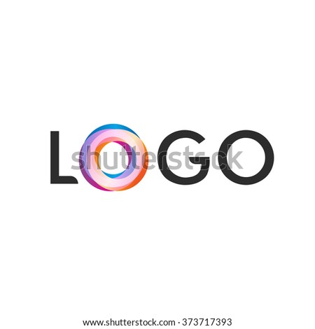 Isolated Colorful Vector Logo Funny Font Stock Vector Hd Royalty
