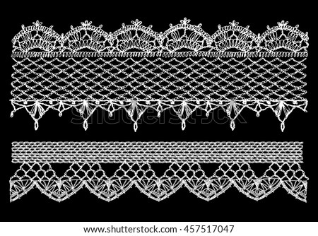 Openwork stockings stock images royalty free images for Border lace glam