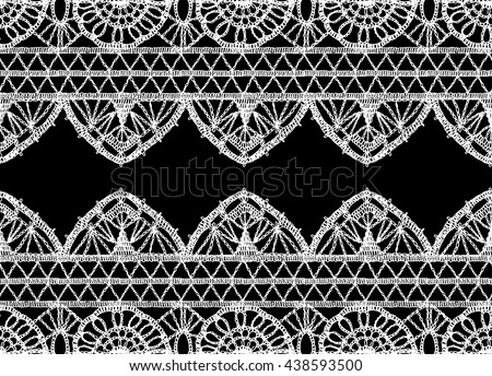 Lace curtain stock images royalty free images vectors for Border lace glam