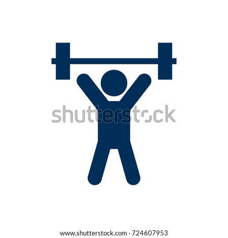 weight lifting icon stock images royalty free images vectors rh shutterstock com weightlifting logs software weightlifting logs