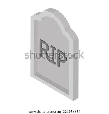 Isolated halloween icon on a white background