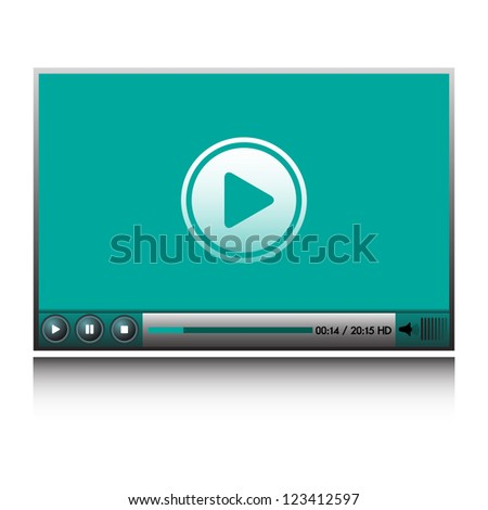 Isolated HD video player for websites