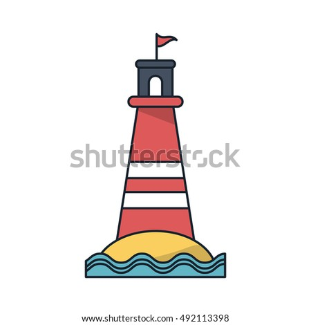 Isolated lighthouse design
