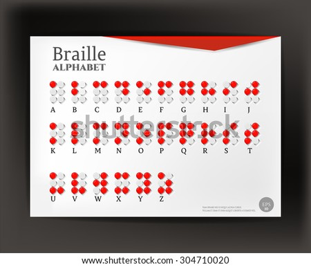 how to make braille dots on paper