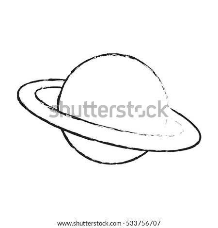 Isolated space planet design