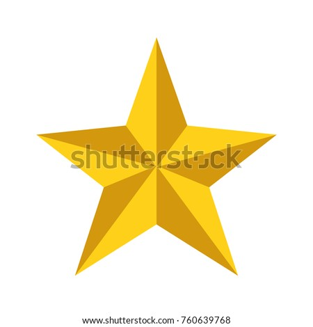 Isolated star design