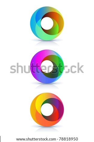 isolated symbols for your design - stock vector