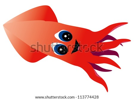 Cartoon Squid Stock Photos Images amp Pictures Shutterstock
