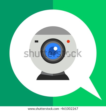 Isolated Web-camera Icon