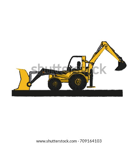 Isolated wheel loader design
