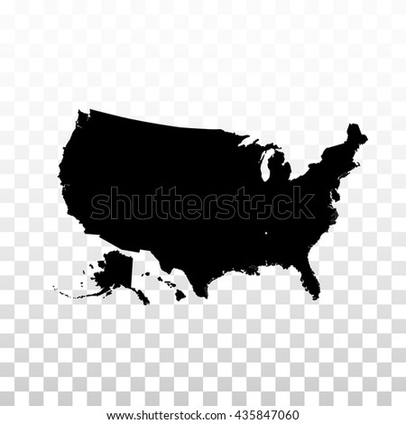 Isolated white color American map vector logo. USA atlas image with national flag on the purple background logotype. Geographic unit. - stock vector