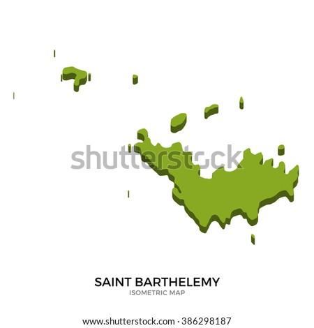 Saint Barthelemy Stock Vectors Images Vector Art Shutterstock - Saint barthelemy map